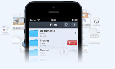 Multifunctional iPhone File Manager